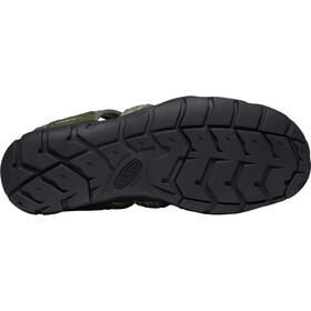 Keen Clearwater CNX Sandalias Hombre, forest night/black